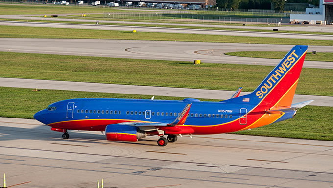 Боинг 737-700 Southwest Airline