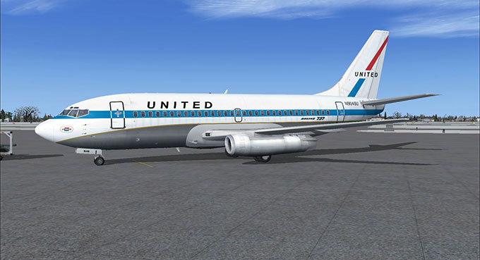 737 200 United Airlines