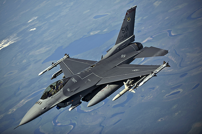 F-16 Fighting Falcon General Dynamics
